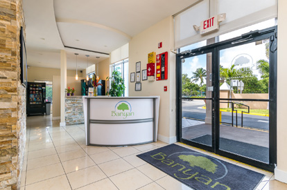 Banyan Treatment Center Pompano Welcome Desk